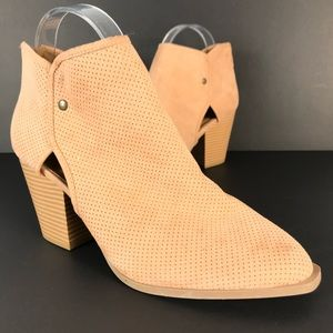 Maurices Daphne cut out perforated bootie